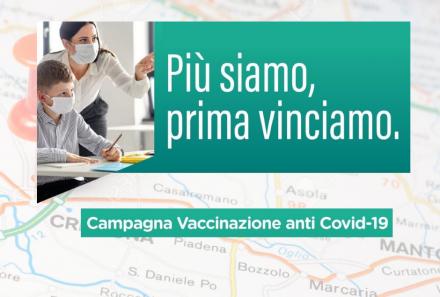 Accesso libero ai centri vaccinali per ragazzi dai 12 ai 19 anni